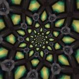 abstrakcjonistyczni kółkowi wzory Fotografia Royalty Free