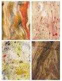 Abstrakcjonistyczni kolorów tła Obrazy Royalty Free