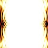 Abstrakcjonistyczni kolor żółty płomienie ilustracja wektor