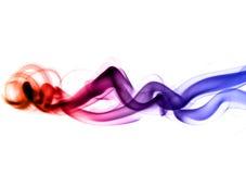 Abstrakcjonistyczni Kolorowi dymni kształty Obraz Stock