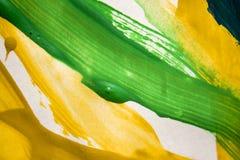 Abstrakcjonistyczni kolorowi muśnięć uderzenia Zdjęcia Royalty Free