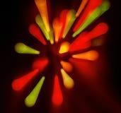 Abstrakcjonistyczni kolorowi tła Fotografia Royalty Free