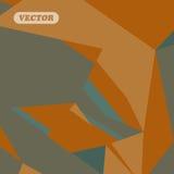 Abstrakcjonistyczni kolorowi trójboki Obrazy Stock