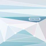 Abstrakcjonistyczni kolorowi trójboki Obraz Stock