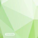 Abstrakcjonistyczni kolorowi trójboki Zdjęcie Royalty Free