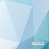 Abstrakcjonistyczni kolorowi trójboki Zdjęcie Stock