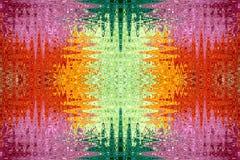 abstrakcjonistyczni kolorowi wzory Obrazy Royalty Free
