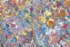 abstrakcjonistyczni kolorowi wzory obraz stock