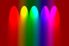 abstrakcjonistyczni kolory Obraz Stock