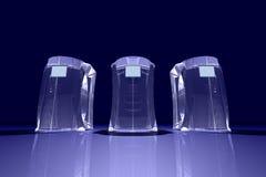 abstrakcjonistyczni komputery. Zdjęcie Royalty Free