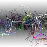 Abstrakcjonistyczni komunikacyjni tła ilustracja Obrazy Stock