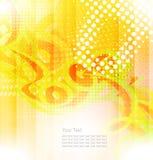 Abstrakcjonistyczni kształty i wektorowy światła tło zawijas Obraz Stock