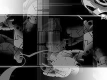 abstrakcjonistyczni kształty tło Fotografia Stock