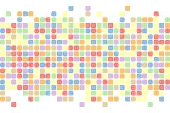 abstrakcjonistyczni kwadraty tło Wektorowy tło Obrazy Royalty Free