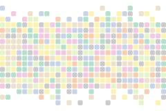abstrakcjonistyczni kwadraty tło Wektorowy tło Obraz Stock