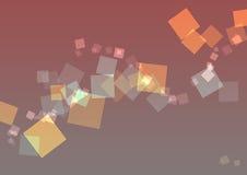abstrakcjonistyczni kwadraty tło Ilustracja Wektor