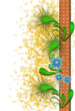 abstrakcjonistyczni kwiaty Obraz Stock