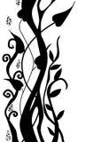 abstrakcjonistyczni kwiaty Obrazy Royalty Free