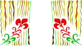 abstrakcjonistyczni kwiaty Zdjęcie Royalty Free