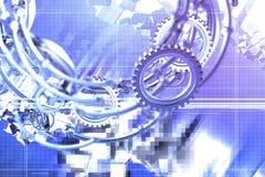 abstrakcjonistyczni mechaniki Fotografia Royalty Free