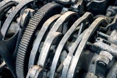 Abstrakcjonistyczni mechanizmów gearwheels Obrazy Royalty Free