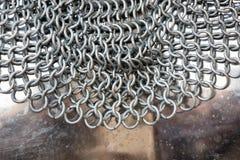 Abstrakcjonistyczni metali pierścionki Obrazy Stock