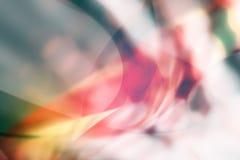 Abstrakcjonistyczni miękka część kolory z przejrzystym sceny tłem Obrazy Stock