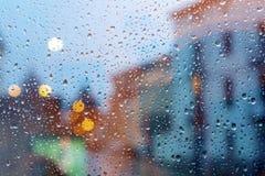 Abstrakcjonistyczni miast światła Fotografia Royalty Free