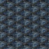 Abstrakcjonistyczni niebiescy dżinsy Fotografia Stock