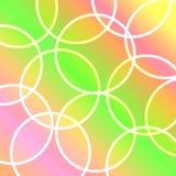 abstrakcjonistyczni okręgi tło ilustracji
