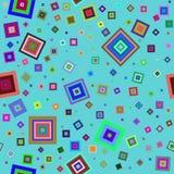 abstrakcjonistyczni okręgi tło wektor bezszwowy wzoru royalty ilustracja