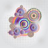 abstrakcjonistyczni okręgi Zdjęcie Royalty Free