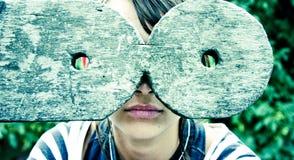 abstrakcjonistyczni okulary Zdjęcia Royalty Free