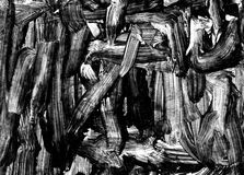 abstrakcjonistyczni pędzel tła uderzenia Obraz Royalty Free