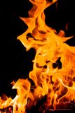Abstrakcjonistyczni płomienie ogień struktura Fotografia Royalty Free