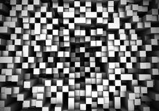 Abstrakcjonistyczni Perspektywiczni sześciany 2 Obrazy Stock