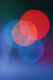 abstrakcjonistyczni plam światła Obrazy Royalty Free