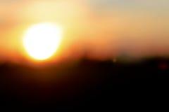 Abstrakcjonistyczni plamy światła wizerunku Sunbeams przechodzi przez chmur zdjęcie royalty free