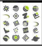 abstrakcjonistyczni projektów elementy Zdjęcia Stock
