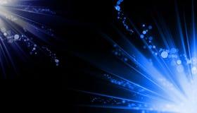 abstrakcjonistyczni promieni świetlnych Obraz Stock