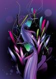 abstrakcjonistyczni ptaków koloru elementy ilustracja wektor