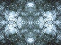 Abstrakcjonistyczni raindrops Fotografia Royalty Free