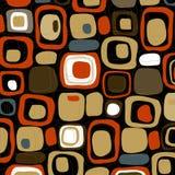 abstrakcjonistyczni retro smores położenie ilustracja wektor