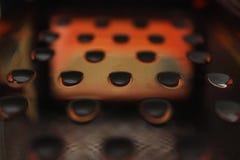 Abstrakcjonistyczni rocznika metalu tła fotografia royalty free