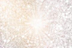 Abstrakcjonistyczni rozmyci światła Obraz Royalty Free