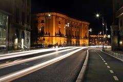 Abstrakcjonistyczni samochodowi światła Zdjęcie Royalty Free