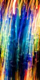 Abstrakcjonistyczni spada kaskadą kolorów światła w ruchu Obrazy Stock