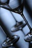abstrakcjonistyczni szklanki Martini Fotografia Royalty Free