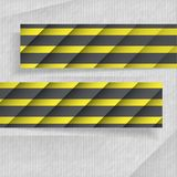 Abstrakcjonistyczni sztandary Z miejscem Dla Twój teksta Zdjęcia Royalty Free