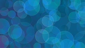 abstrakcjonistyczni tła błękit bąble Obraz Stock